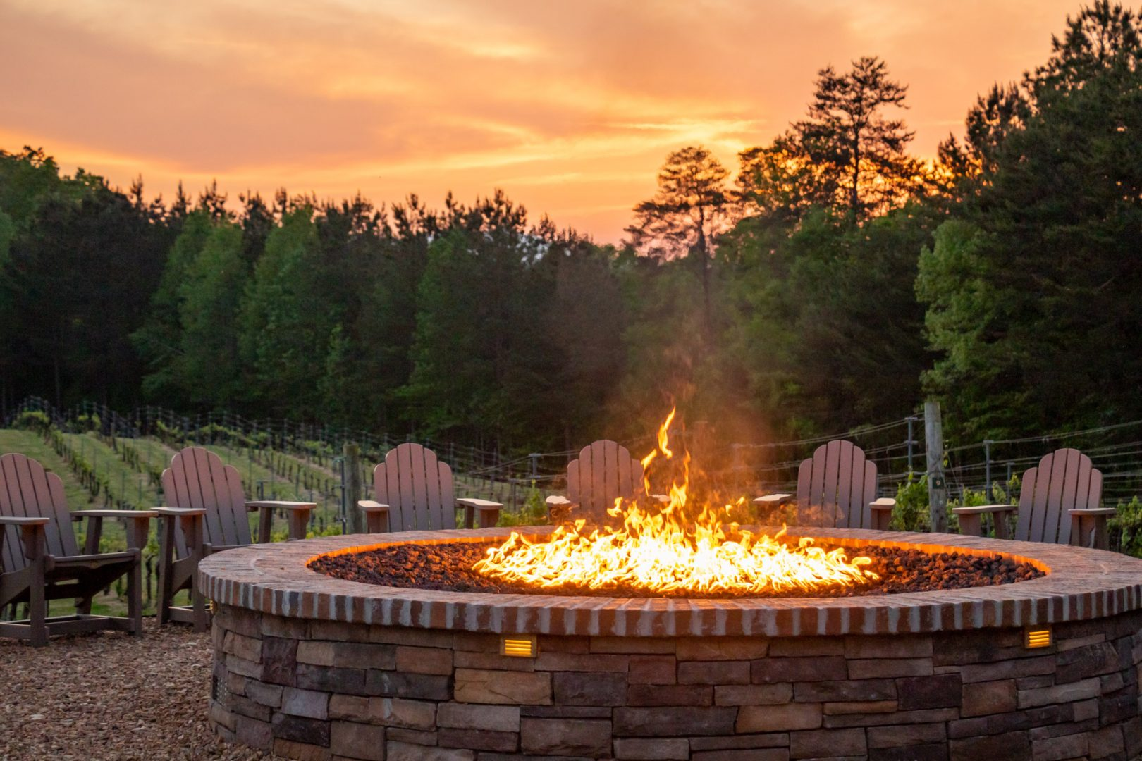 Enjoy Our Large Fire Pit