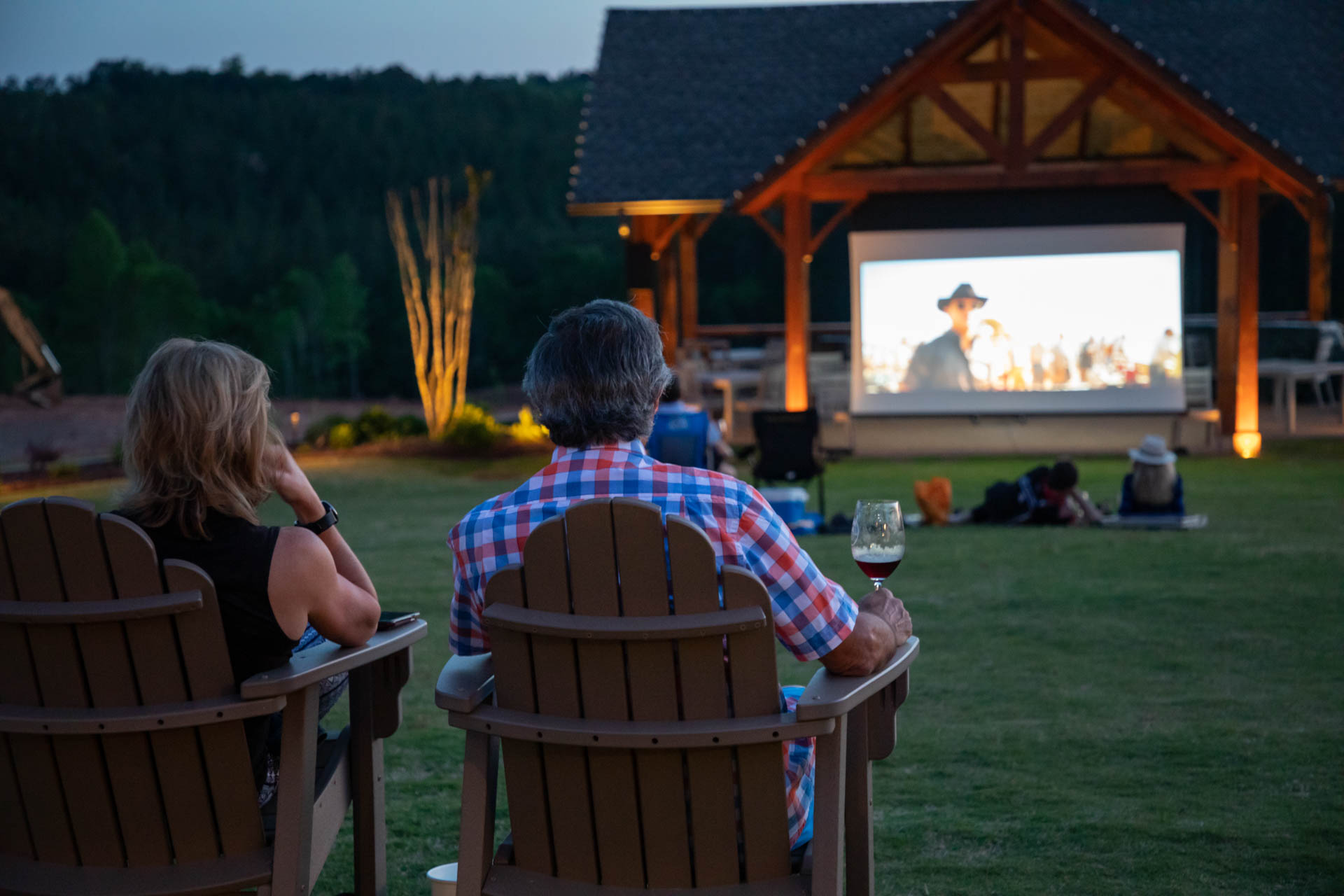 Movie Night at Mountain Brook Vineyards